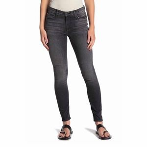 Hudson Natalie Super Skinny Washed Out Black Jean